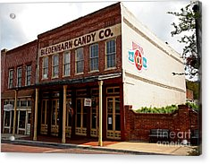 Biedenharn Candy Co Acrylic Print by Russell Christie