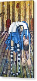 Big Alice Little Door Acrylic Print