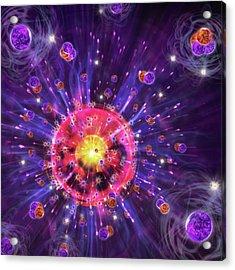 Big Bang Acrylic Print by Harald Ritsch