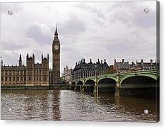 Big Ben Acrylic Print by Andres LaBrada