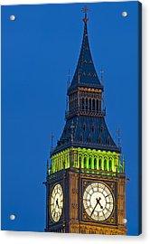 Big Ben London Acrylic Print by Matthew Gibson