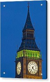 Big Ben Parliament Wesminster London Digital Painting Acrylic Print