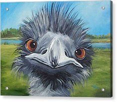Big Bird - 2007 Acrylic Print by Torrie Smiley