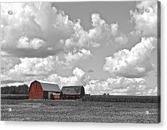 Big Sky Acrylic Print by Frozen in Time Fine Art Photography