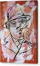 Biggie Smalls Art Painting Poster Acrylic Print by Kim Wang