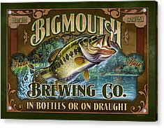 Bigmouth Brewing Acrylic Print by JQ Licensing