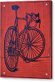 Bike 4 Acrylic Print by William Cauthern
