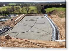 Biogas Extraction From Landfill Acrylic Print