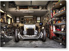 Birth Of A Roadster Acrylic Print
