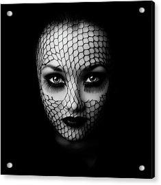 Black Acrylic Print
