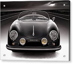 Black Speedster Acrylic Print by Douglas Pittman