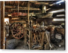 Blacksmith Shop Acrylic Print