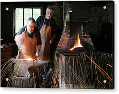 Blacksmith Acrylic Print by Stephen Norris