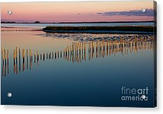 Blackwater Sunset Acrylic Print