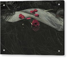 Blossom Rain 29 Acrylic Print by Georg Kickinger