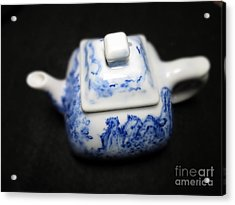 Blue And White Porcelain Acrylic Print