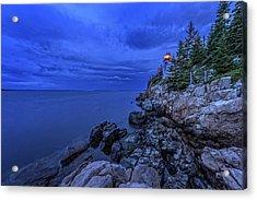 Blue Dawn Acrylic Print by Rick Berk
