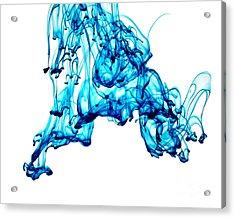 Blue Descent Acrylic Print