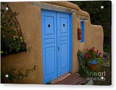 Blue Doors Acrylic Print