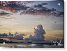 Blue Evening Acrylic Print