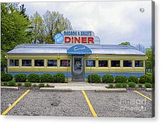 Acrylic Print featuring the photograph Blue Moon Diner by JRP Photography