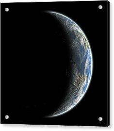 Blue Planet No.7 Acrylic Print