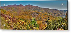 Acrylic Print featuring the photograph Blue Ridge Parkway by Alex Grichenko