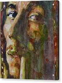 Bob Marley Acrylic Print by Paul Lovering