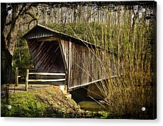 Bob White Covered Bridge Acrylic Print
