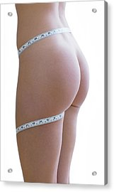 Body Image Acrylic Print by Ian Hooton/science Photo Library