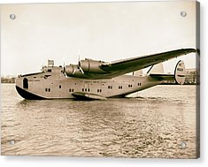 Boeing 314 Clipper 1939 Acrylic Print by Mountain Dreams