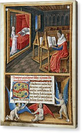 Boethius And Philosophy Acrylic Print by British Library