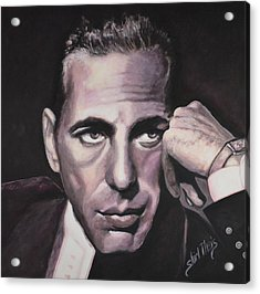 Bogie Acrylic Print by Shirl Theis