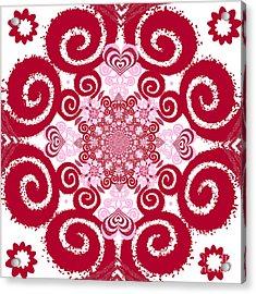 Bohemian Love 2 Acrylic Print
