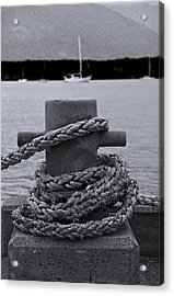 Acrylic Print featuring the photograph Bollard by Debbie Cundy