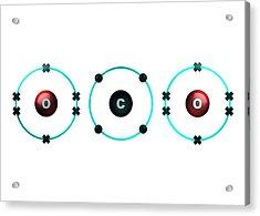 Bond Formation In Carbon Dioxide Molecule Acrylic Print