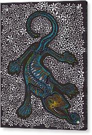 Bones II - The Lizard Acrylic Print