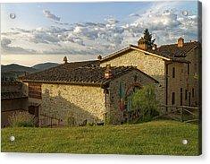 Borgo Bottaia Acrylic Print