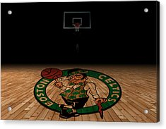 Boston Celtics Acrylic Print by Joe Hamilton
