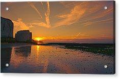 Botany Bay Sunset Acrylic Print