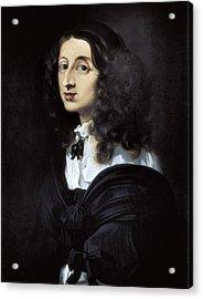 Bourdon, S�bastien 1616-1671. Christina Acrylic Print
