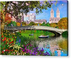 Bow Bridge Acrylic Print