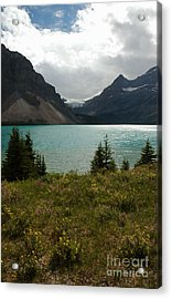 1010a Bow Lake Alberta Acrylic Print