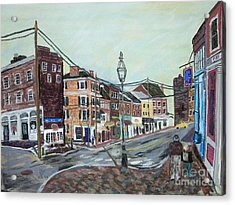 Bow Street As You Were Acrylic Print