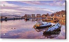 Bowling Harbour Panorama 02 Acrylic Print