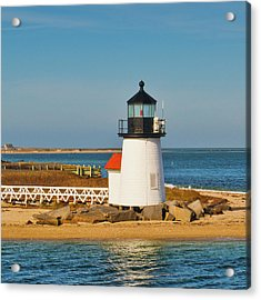 Brant Point Lighthouse Nantucket Acrylic Print by Marianne Campolongo