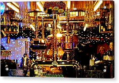 Brass Beer Acrylic Print by Sharon Costa