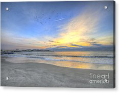 Breach Inlet Sunrise Acrylic Print