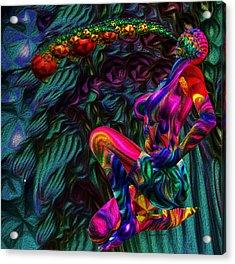 Breathing Rainbows Theories W 2366 Acrylic Print