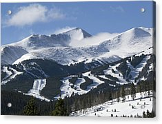 Breckenridge Resort Colorado Acrylic Print